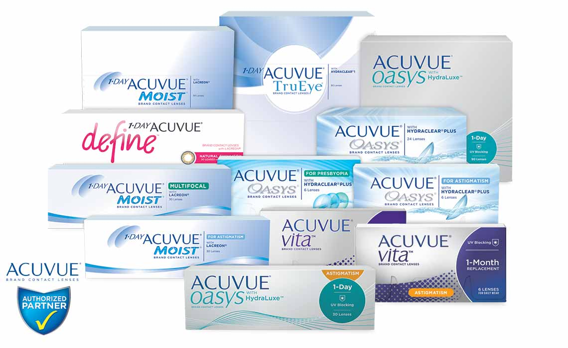 Acuvue Authorized Parnter